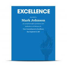 Excellence Industry Award Plaque