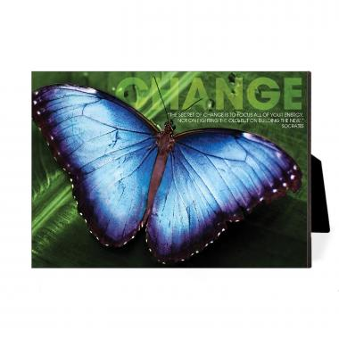 Change Butterfly Desktop Print