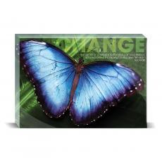 Modern Motivation - Change Butterfly Desktop Print