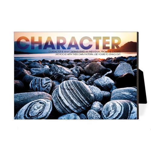 Character Beach Desktop Print