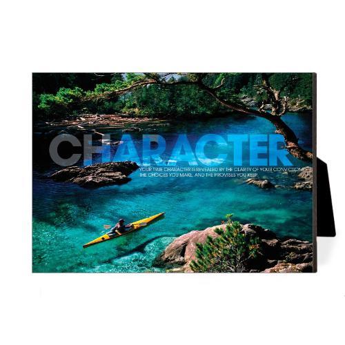 Character Kayaker Desktop Print