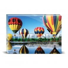 Modern Motivation - Diversity Balloons Desktop Print