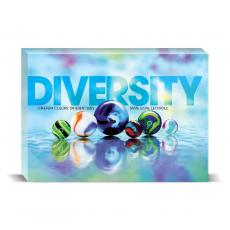 Modern Motivation - Diversity Marbles Desktop Print