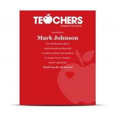 Shop by Industry - Teachers Industry Award Plaque