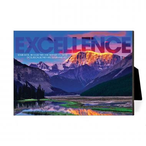 Excellence Mountain Desktop Print