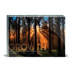 Modern Motivation - Growth Forest Desktop Print