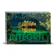 Modern Motivation - Integrity Island Desktop Print