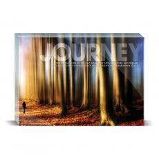 Modern Motivation - Journey Path Desktop Print