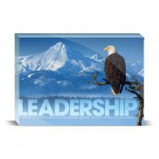 Modern Motivation - Leadership Eagle Tree Desktop Print