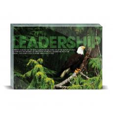 Modern Motivation - Leadership Eagle Desktop Print