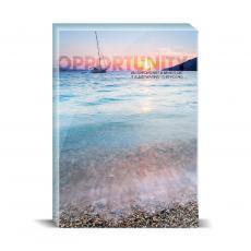 Modern Motivation - Opportunity Sailboat Desktop Print