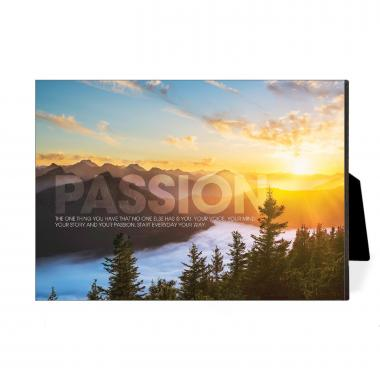 Passion Sunrise Desktop Print