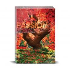 Modern Motivation - Passion Tree Desktop Print