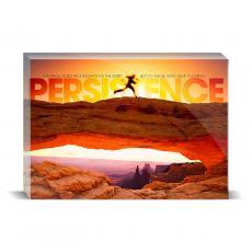 Modern Motivation - Persistence Runner Desktop Print