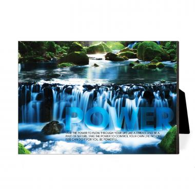 Power Waterfall Desktop Print