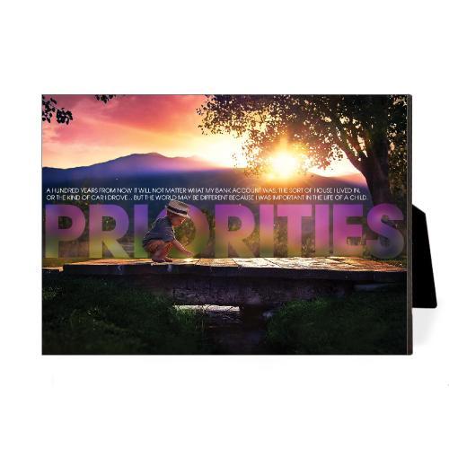 Priorities Bridge Desktop Print