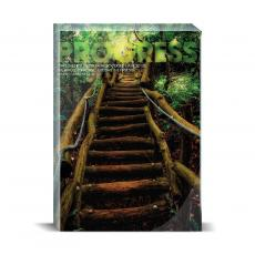 Modern Motivation - Progress Staircase Desktop Print