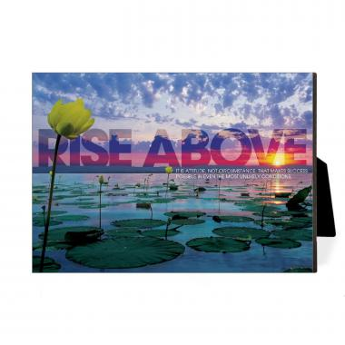 Rise Above Lily Pad Desktop Print