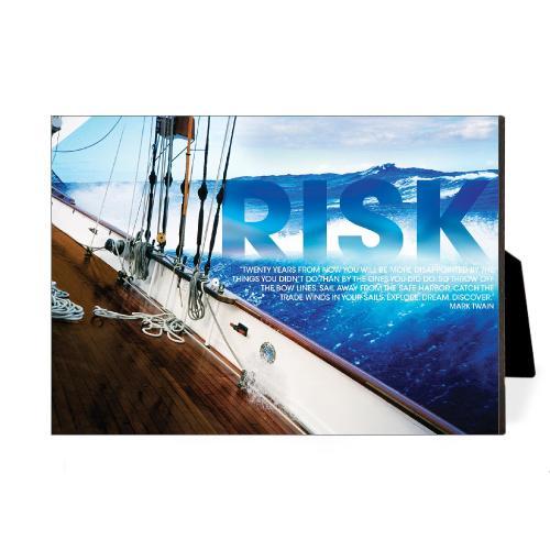 Risk Sailboat Desktop Print
