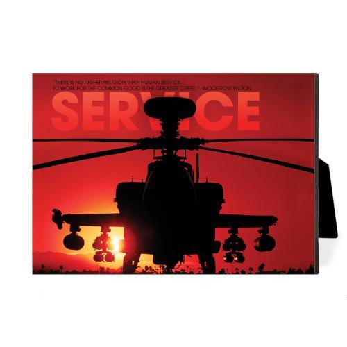 Service Helicopter Desktop Print