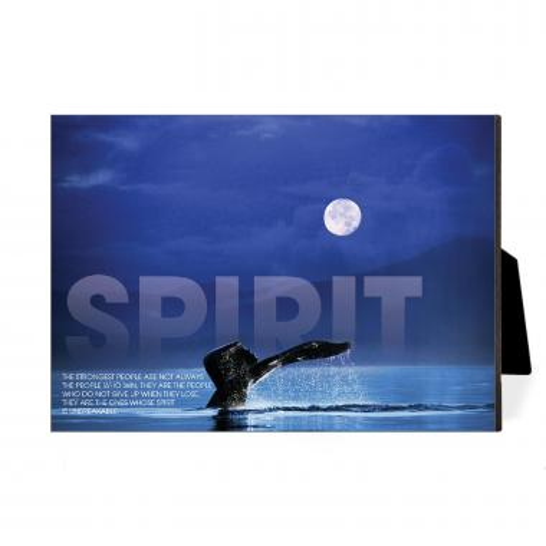 Spirit Whale Desktop Print