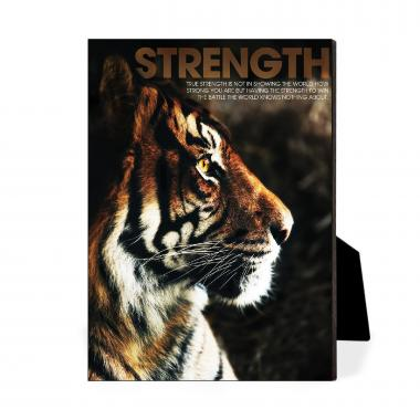 Strength Tiger Desktop Print