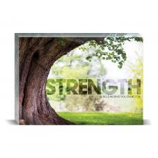 Modern Motivation - Strength Tree Desktop Print