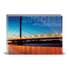 Modern Motivation - Success Bridge Desktop Print