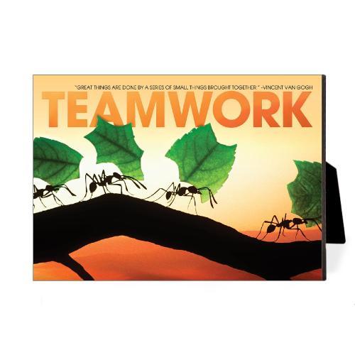 Teamwork Ants Desktop Print