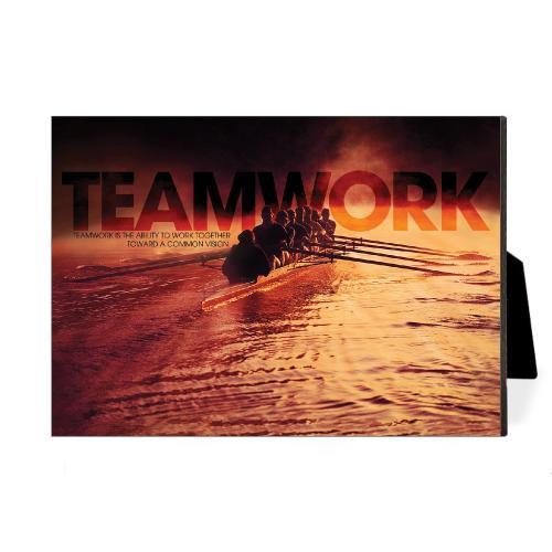 Teamwork Rowers Desktop Print