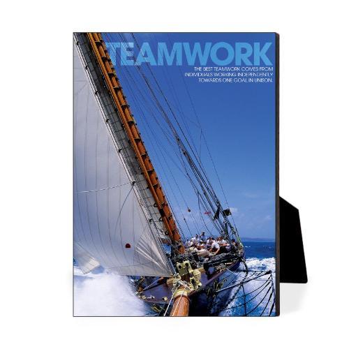 Teamwork Sailboat Desktop Print