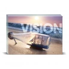 Modern Motivation - Vision Ship Desktop Print