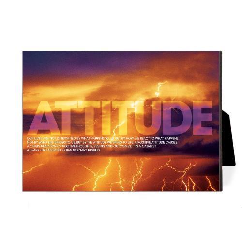 Attitude Lightning Desktop Print