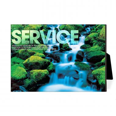 Service Waterfall Desktop Print