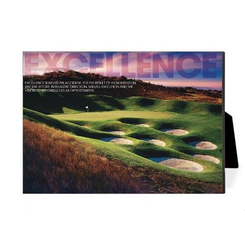 Excellence Golf Desktop Print