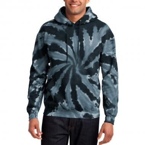 Port & Company® Tie-Dye Pullover Hooded Sweatshirt