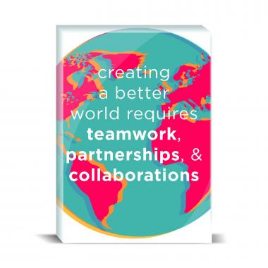 A Better World Desktop Print