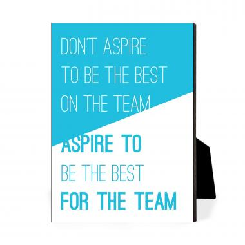 Aspire For The Team Desktop Print