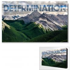 Determination Mountain Motivational Art