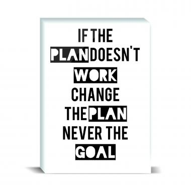 Change The Plan Desktop Print