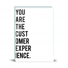 Typography - Customer Experience Desktop Print