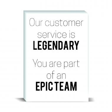 Epic Team Desktop Print