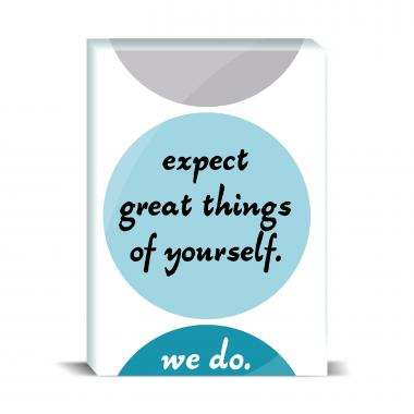 Expect Great Things Desktop Print