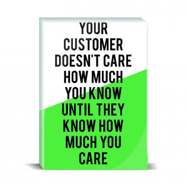 How Much You Care Desktop Print