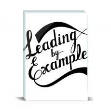 Typography - Leading By Example Desktop Print