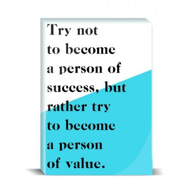 Person Of Value Desktop Print
