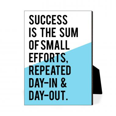 Success Is The Sum Desktop Print