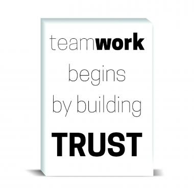 Teamwork Begins Desktop Print