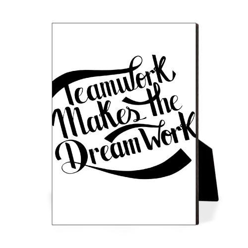 Teamwork Dreamwork Desktop Print