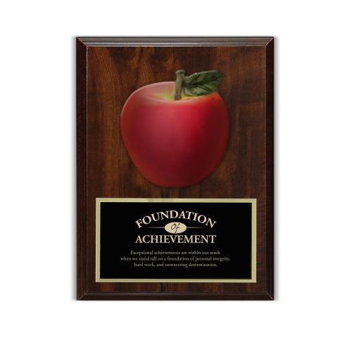 Apple 3D Presentation Award Plaque
